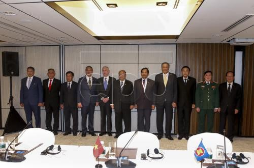 Shangri-La dialogue: US, ASEAN agree on regional security issues hinh anh 1