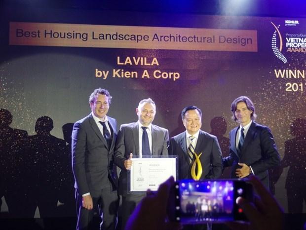 CapitaLand wins best developer award hinh anh 1