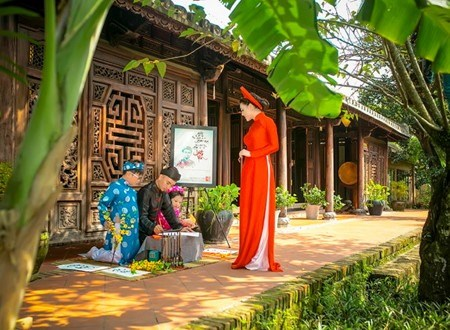 Hoi An prepares for int'l silk and brocade festival hinh anh 1