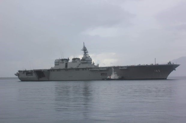 Two Japanese ships visit Philippines hinh anh 1