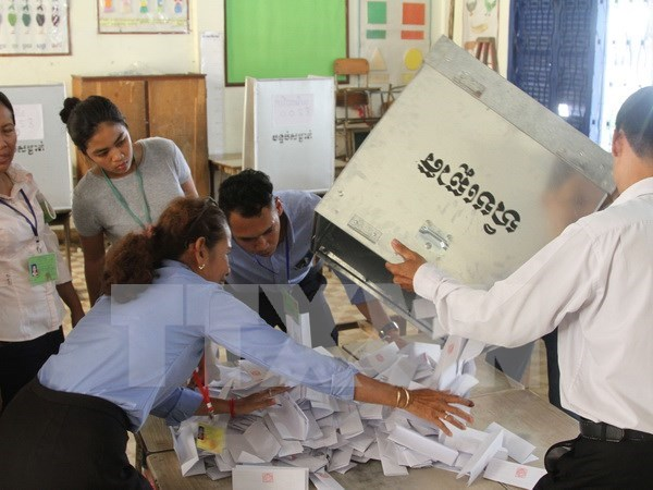 Cambodian ruling party wins big success in communal election hinh anh 1