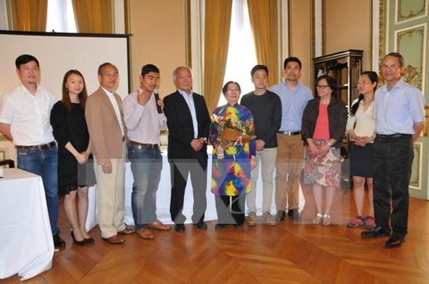 General Association of Vietnam-Belgium convenes congress hinh anh 1