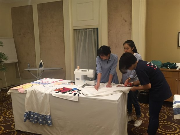 Linens for Life project starts in Hanoi hinh anh 1