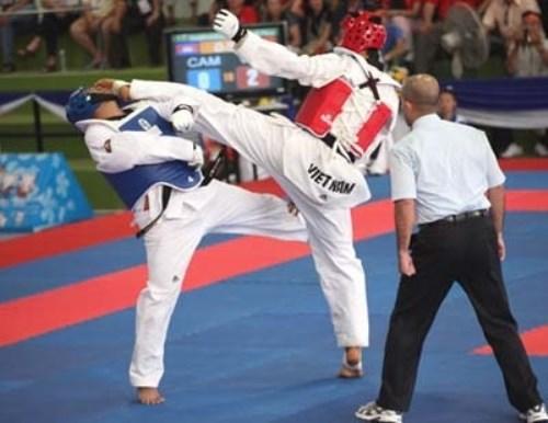 Second Asian Junior Taekwondo Championships kicks off hinh anh 1