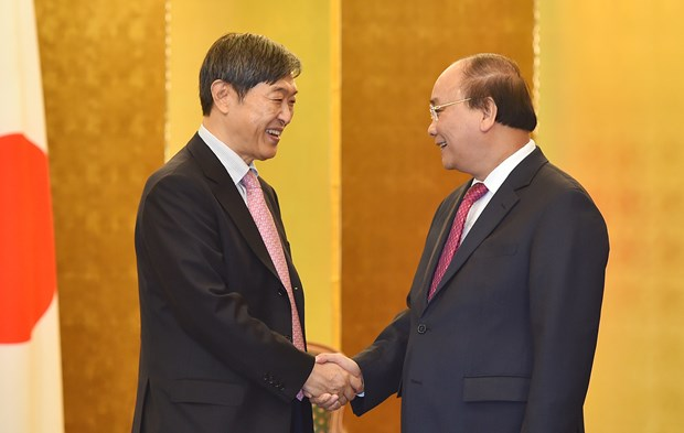 Prime Minister meets Japanese party, local leaders hinh anh 2