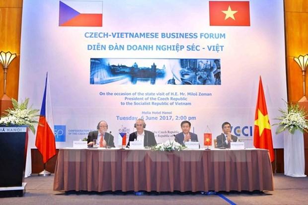 Vietnam-Czech business forum opens in Hanoi hinh anh 1