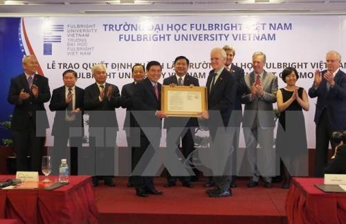 Fulbright University Vietnam announces US Govt's funding hinh anh 1