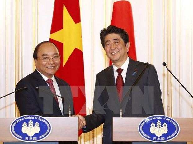 Japanese media highlights Vietnam-Japan high-level talks hinh anh 1