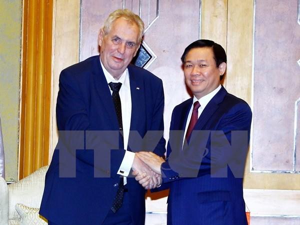Deputy PM hails Czech President's visit hinh anh 1