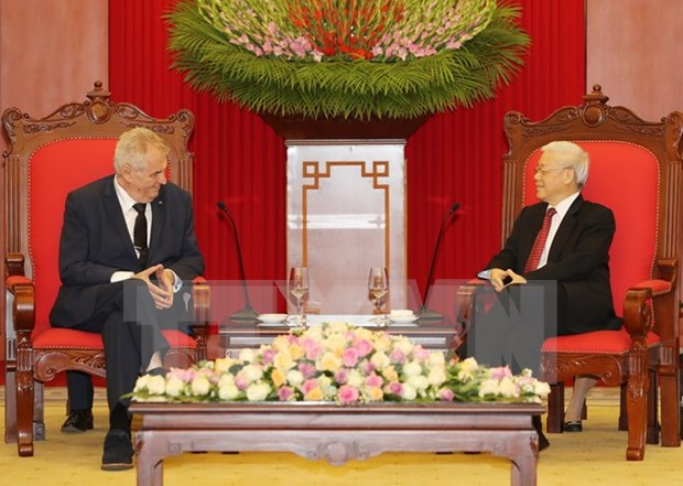 Party leader urges stronger Vietnam-Czech Republic collaboration hinh anh 1