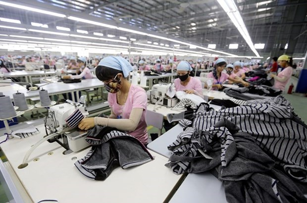 Vietnam's textile-garment heavily relies on imported fabrics hinh anh 1