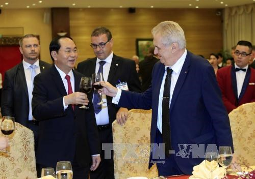 Czech President wraps up state visit to Vietnam hinh anh 1