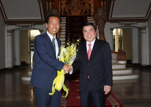 HCM City boosts cooperation with RoK province hinh anh 1