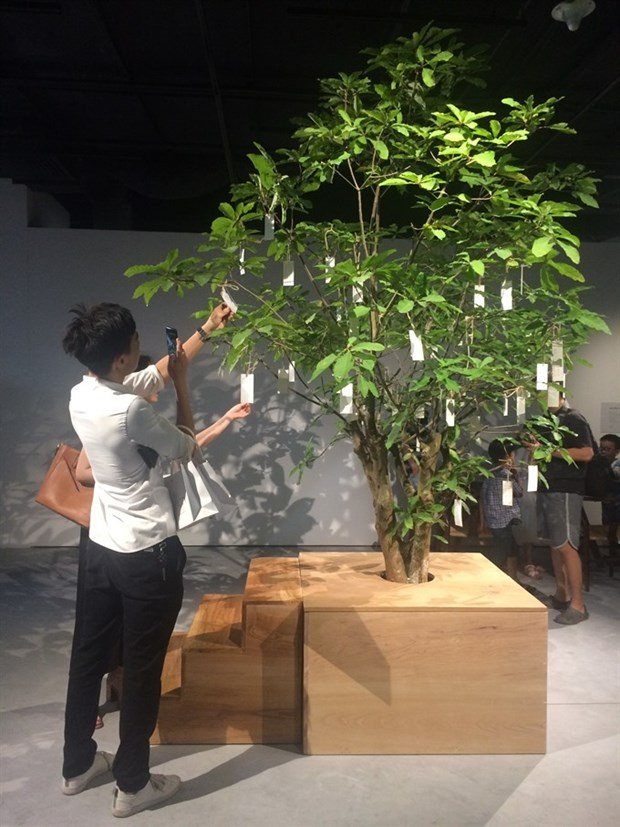 Yoko Ono project at new art centre hinh anh 1