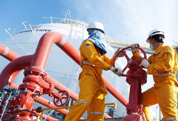 PetroVietnam surpasses production target in five months hinh anh 1