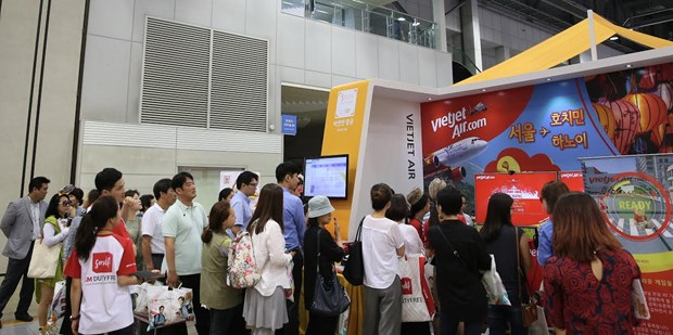 Vietjet to host series of activities at int'l travel show in RoK hinh anh 1
