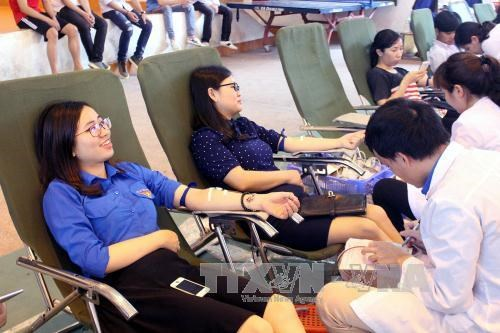 Vietnam hosts World Blood Donor Day for first time hinh anh 1