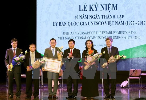 Deputy PM hails UNESCO's four-decade achievements hinh anh 1