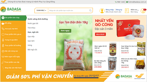Vietnam launches first specialties e-commerce platform hinh anh 1