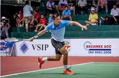 Vietnam tennis player rises 42 steps in world rankings hinh anh 1