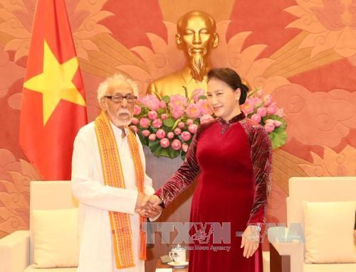 National Assembly leader highlights Vietnamese-Indian contact hinh anh 1