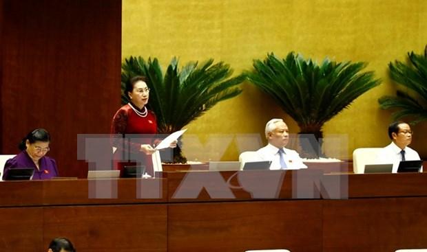 NA starts Q&A sessions at third meeting hinh anh 1