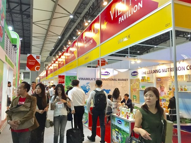 Top Vietnamese firms attend Asia's largest FB trade fair hinh anh 1