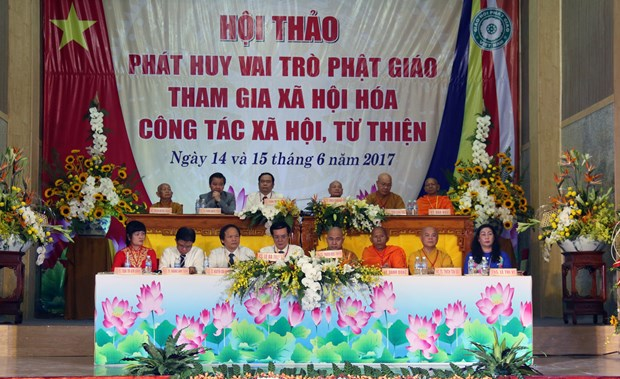Workshop highlights Buddhists' role in social activities hinh anh 1
