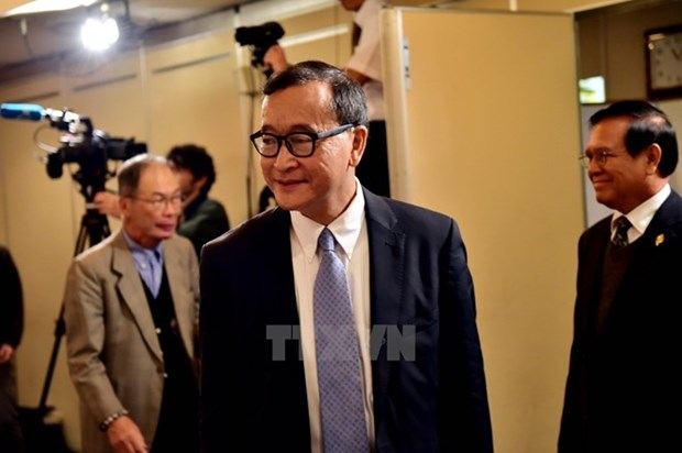 Cambodia lifts ban on former opposition leader's return hinh anh 1