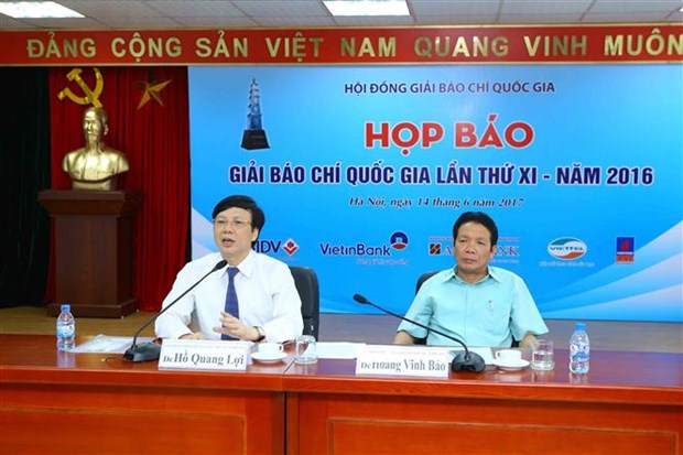 95 works win 11th National Press Awards hinh anh 1
