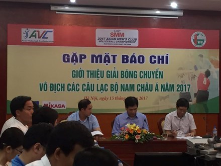 Vietnam to host Asia Men's Club Volleyball Championship hinh anh 1