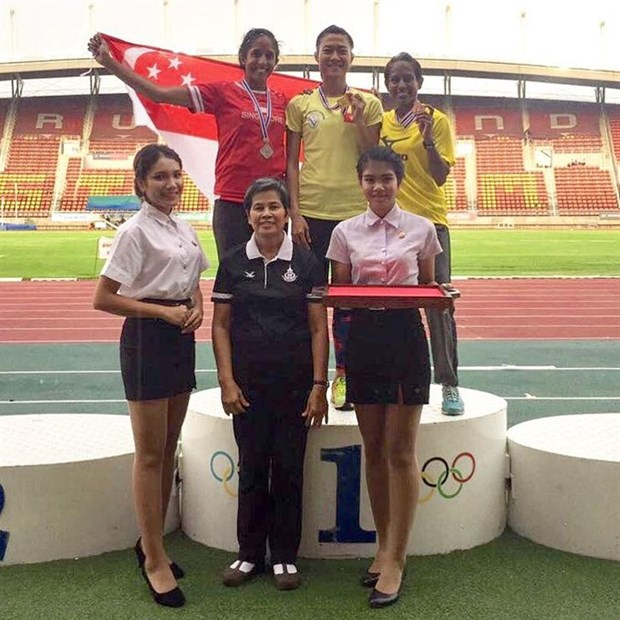 Vietnamese athletes win three golds at Thailand Open hinh anh 1