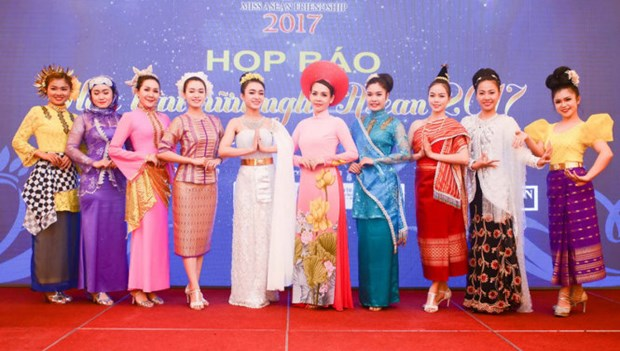 Miss Friendship ASEAN 2017's finale takes place in Phu Yen hinh anh 1