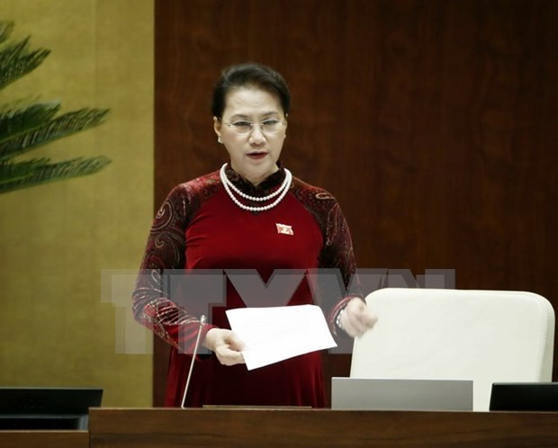 NA leader calls for breakthrough solutions to existing problems hinh anh 1