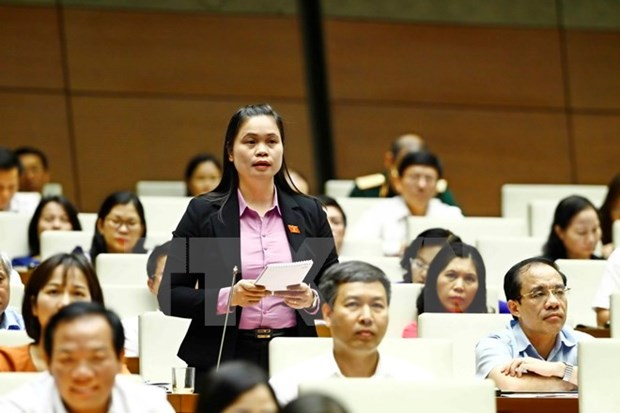 14th NA's third meeting wraps up Q&A sessions hinh anh 1