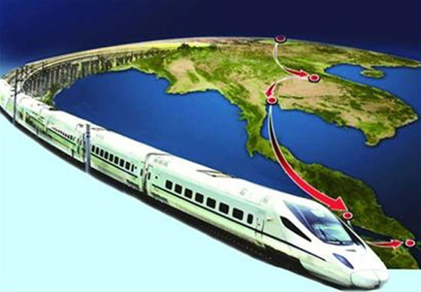 Thai PM pushes forward railway construction project with China hinh anh 1