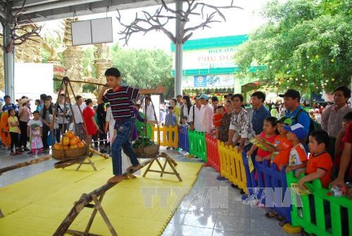 Children taught about participation rights hinh anh 1