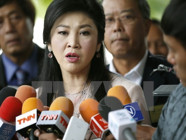 Thai former PM denies Thaksin's link to Bangkok blasts suspect hinh anh 1