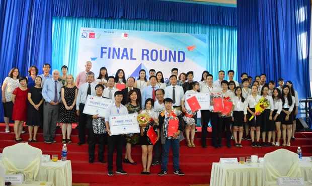 Start-up competition for students held in Da Nang hinh anh 1