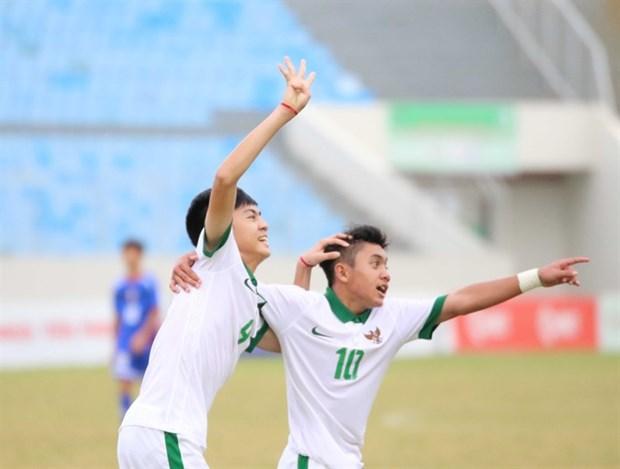 Indonesia win Da Nang's U15 tournament title hinh anh 1