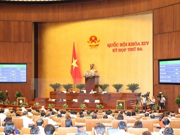 National Assembly passes three bills hinh anh 1