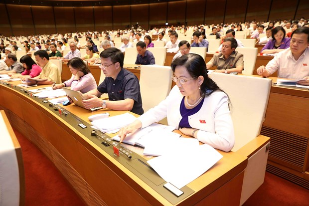 Bills on guard force, weapon management go through NA hinh anh 1