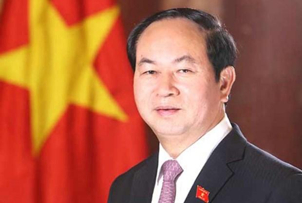 President Tran Dai Quang to visit Russia, Belarus hinh anh 1