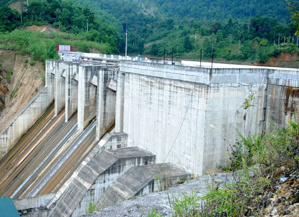 Thuan Hoa hydropower plant inaugurated in Ha Giang hinh anh 1