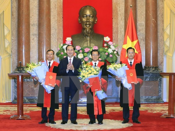 Judges, deputy chief judges of supreme court appointed hinh anh 1