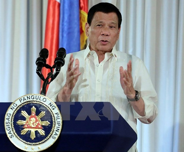 Philippine President apologises for situation in Marawi hinh anh 1