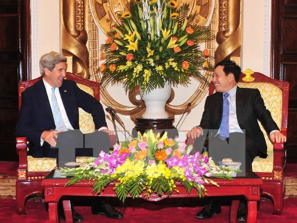 Deputy PM welcomes former US Secretary of State hinh anh 1