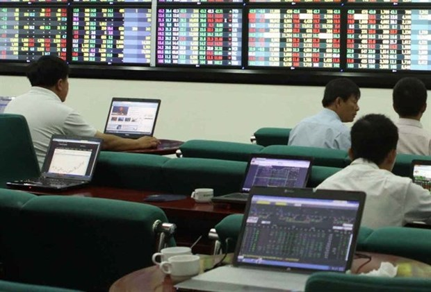 Shares up for second day on stock market hinh anh 1