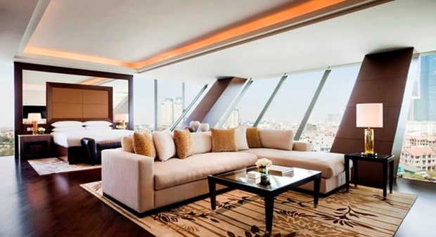 Hanoi's luxury hotels fully booked by Q1, 2018 hinh anh 1