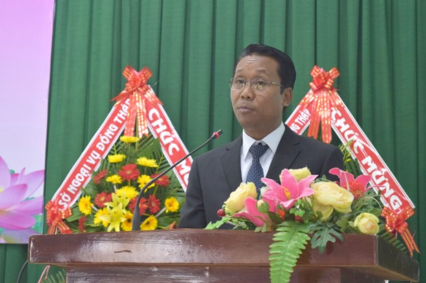 Dong Thap province reviews milestones in Vietnam-Cambodia ties hinh anh 1